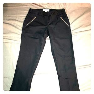 NWOT Micheal Kors Navy Zipper Pants Size 0